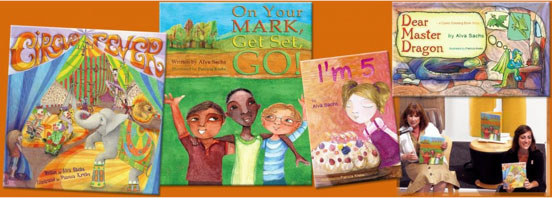 Alva Sachs Children's Author - Press Room